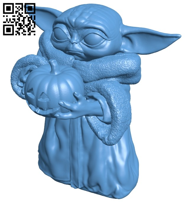 The child halloween edition B008736 file obj free download 3D Model for CNC and 3d printer