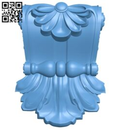 Top of the column A005718 download free stl files 3d model for CNC wood carving