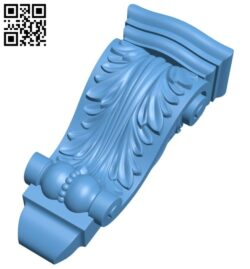 Top of the column A005725 download free stl files 3d model for CNC wood carving