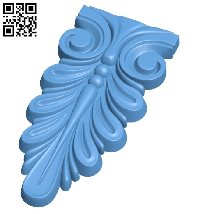 Top of the column A005727 download free stl files 3d model for CNC wood carving