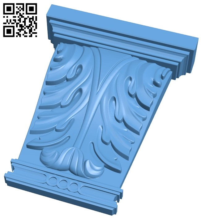 Top of the column A005729 download free stl files 3d model for CNC wood carving