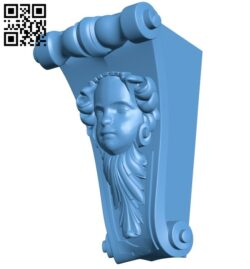 Top of the column A005782 download free stl files 3d model for CNC wood carving