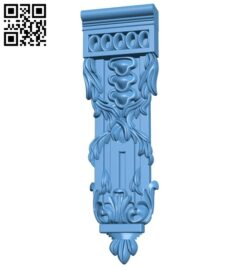 Top of the column A005786 download free stl files 3d model for CNC wood carving