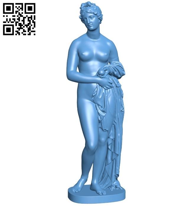 Venus Verticordia B008758 file obj free download 3D Model for CNC and 3d printer
