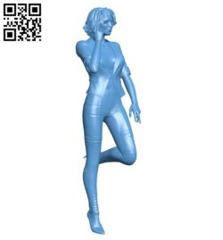 Woman B008684 file stl free download 3D Model for CNC and 3d printer