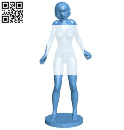 Women B008663 file stl free download 3D Model for CNC and 3d printer