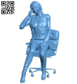 Women B008901 file obj free download 3D Model for CNC and 3d printer