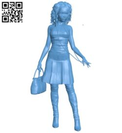 Women – fashion B008633 file stl free download 3D Model for CNC and 3d printer