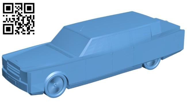 ZiL Glava car B008687 file stl free download 3D Model for CNC and 3d printer