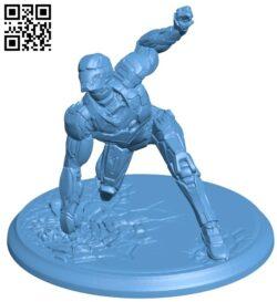 ironman – superhero B008807 file obj free download 3D Model for CNC and 3d printer