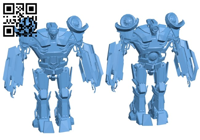 Armoured car drone B008931 file obj free download 3D Model for CNC and 3d printer