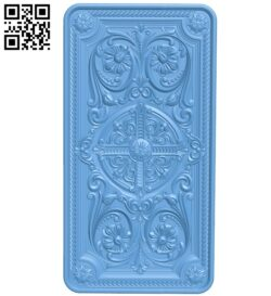 Door pattern A005905 download free stl files 3d model for CNC wood carving