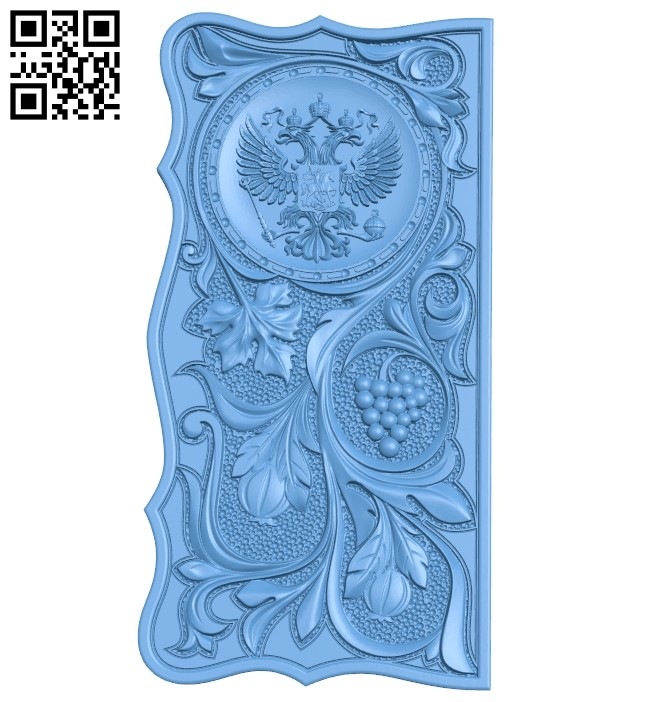 Door pattern A005960 download free stl files 3d model for CNC wood carving