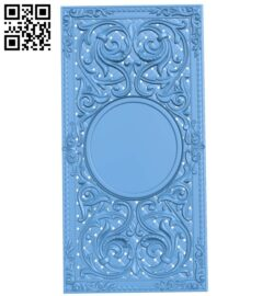 Door pattern A005963 download free stl files 3d model for CNC wood carving
