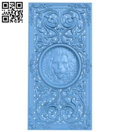 Door pattern A005964 download free stl files 3d model for CNC wood carving