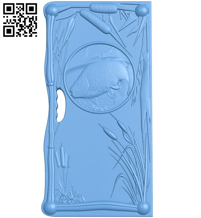 Door pattern A005965 download free stl files 3d model for CNC wood carving