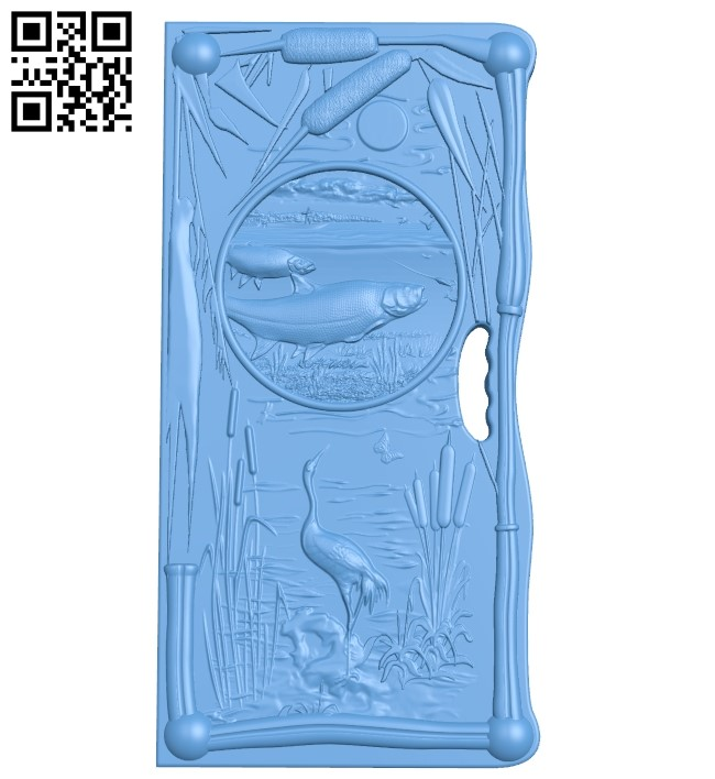 Door pattern A005966 download free stl files 3d model for CNC wood carving