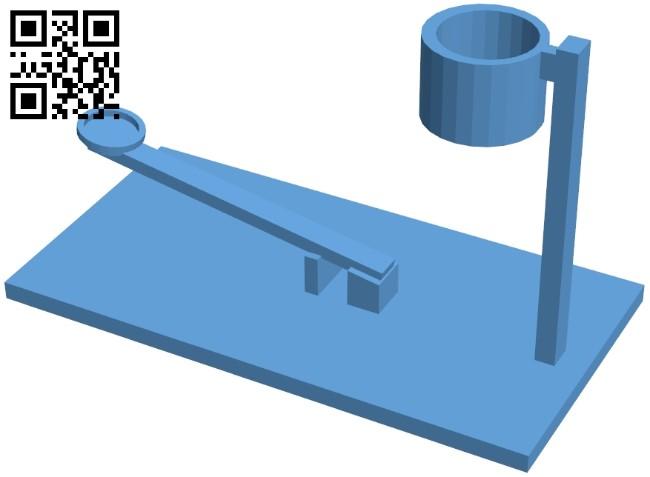 Finger basketball B008925 file obj free download 3D Model for CNC and 3d printer