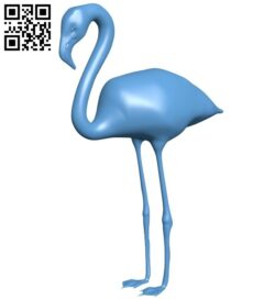 Flamingos B008920 file obj free download 3D Model for CNC and 3d printer