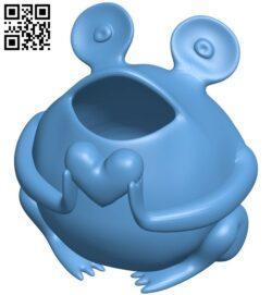 Gartenfrisch heart B008997 file obj free download 3D Model for CNC and 3d printer
