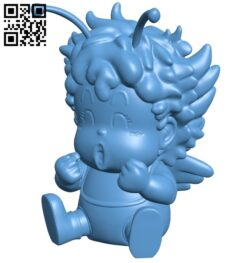 Gatchan – Dr. Slump B008923 file obj free download 3D Model for CNC and 3d printer