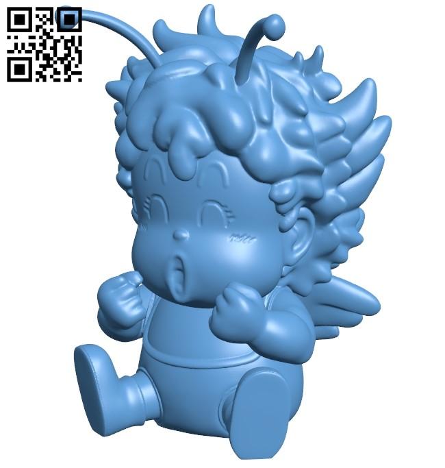 Gatchan - Dr. Slump B008923 file obj free download 3D Model for CNC and 3d printer