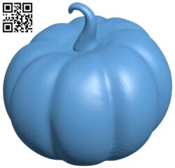Halloween Pumpkin pumpkin B009016 file obj free download 3D Model for CNC and 3d printer