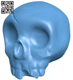Halloween Pumpkin skull B009017 file obj free download 3D Model for CNC and 3d printer