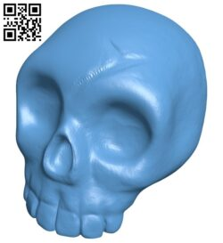 Halloween Pumpkin skull B009018 file obj free download 3D Model for CNC and 3d printer