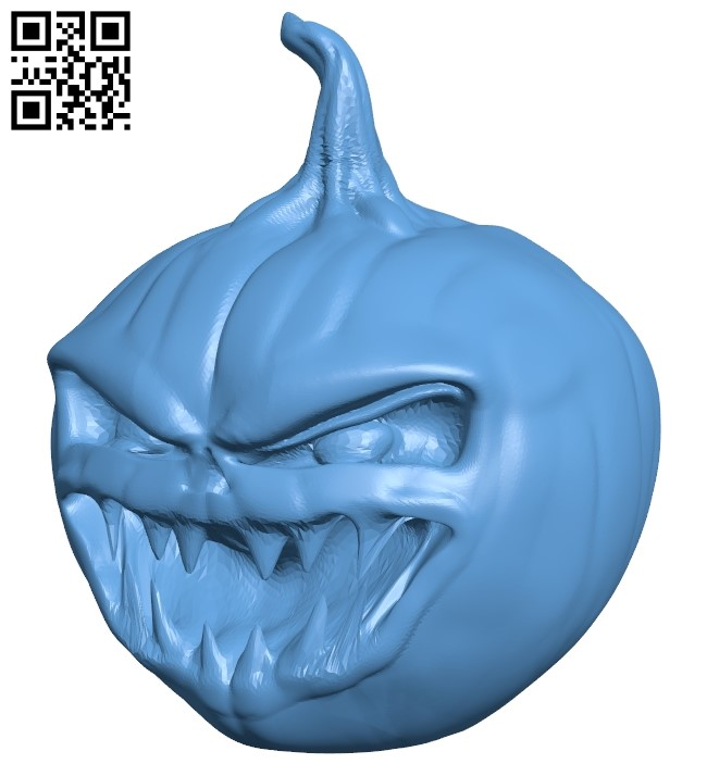 Happy halloween B009031 file obj free download 3D Model for CNC and 3d printer