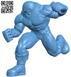 Juggernaut – superhero B009020 file obj free download 3D Model for CNC and 3d printer