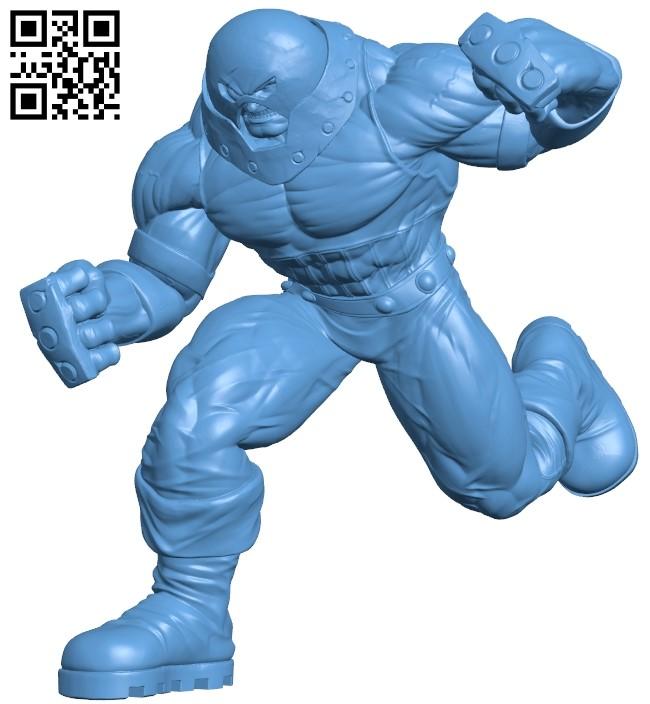 Juggernaut - superhero B009020 file obj free download 3D Model for CNC and 3d printer