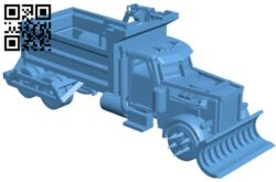 Mad max truck B009026 file obj free download 3D Model for CNC and 3d printer