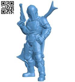 Manda lorian B008927 file obj free download 3D Model for CNC and 3d printer