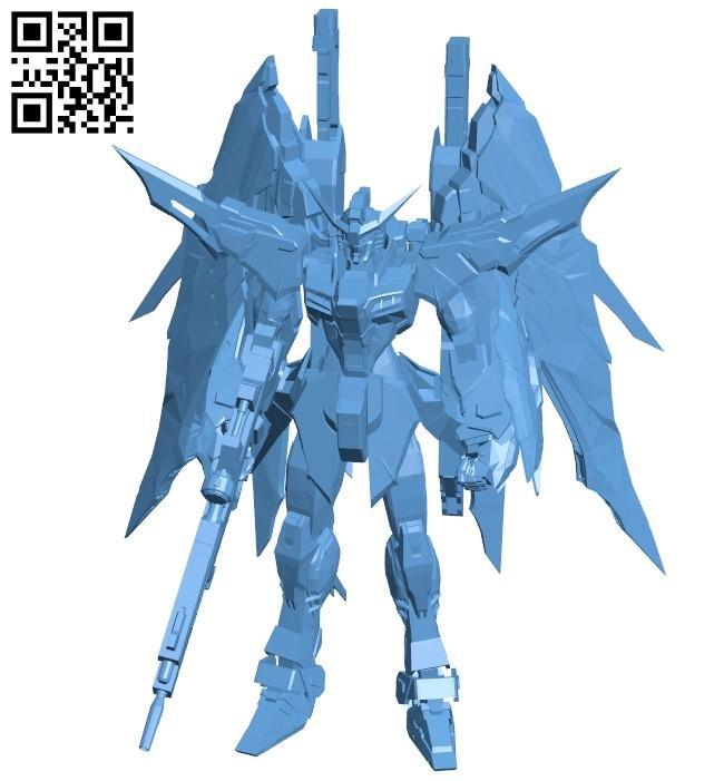 Metal build destiny - robot B008994 file obj free download 3D Model for CNC and 3d printer