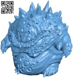 Nurgling B008992 file obj free download 3D Model for CNC and 3d printer