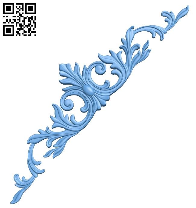 Pattern decor design A005892 download free stl files 3d model for CNC wood carving