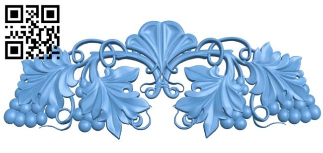Pattern decor design A005893 download free stl files 3d model for CNC wood carving