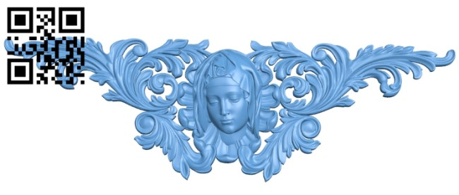 Pattern decor design A005894 download free stl files 3d model for CNC wood carving