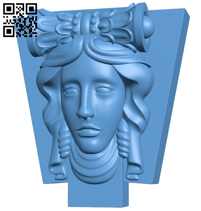 Pattern decor design A005898 download free stl files 3d model for CNC wood carving