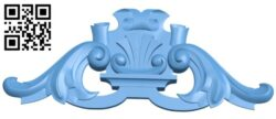 Pattern decor design A005899 download free stl files 3d model for CNC wood carving