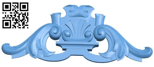 Pattern decor design A005899 download free stl files 3d model for CNC wood carving