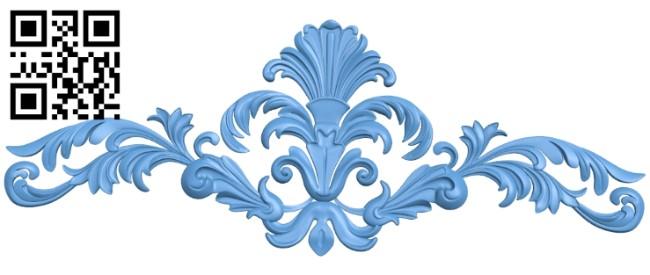 Pattern decor design A005942 download free stl files 3d model for CNC wood carving