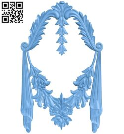 Pattern decor design A005943 download free stl files 3d model for CNC wood carving