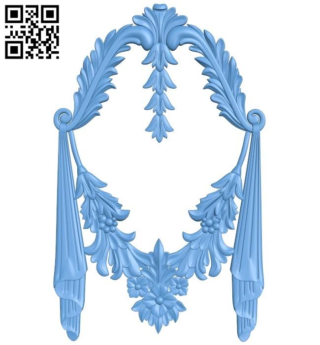 Pattern decor design A005943 download free stl files 3d model for CNC wood carving