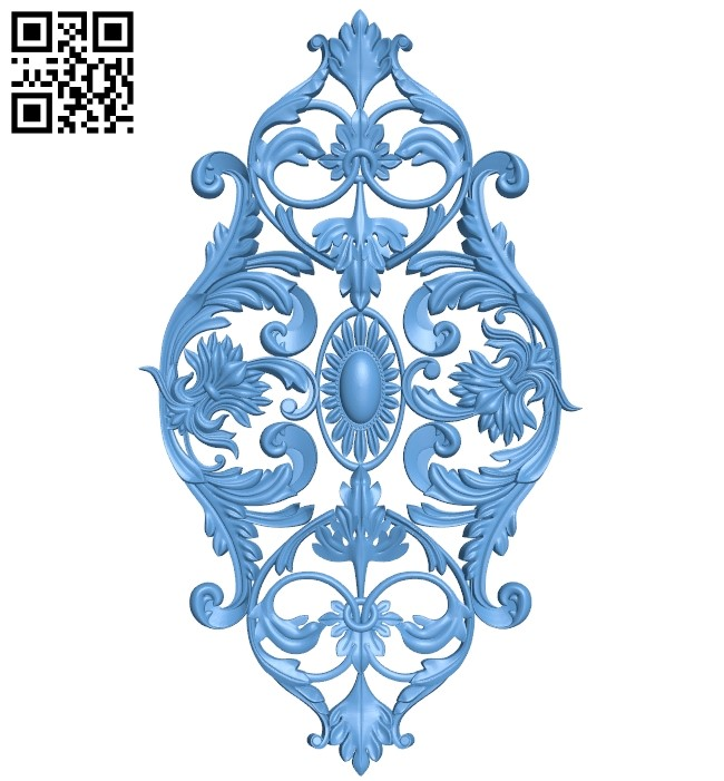 Pattern decor design A005944 download free stl files 3d model for CNC wood carving