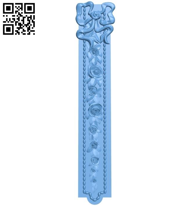Pattern decor design A005945 download free stl files 3d model for CNC wood carving