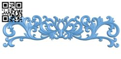 Pattern decor design A005947 download free stl files 3d model for CNC wood carving