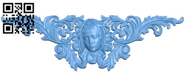 Pattern decor design A005949 download free stl files 3d model for CNC wood carving
