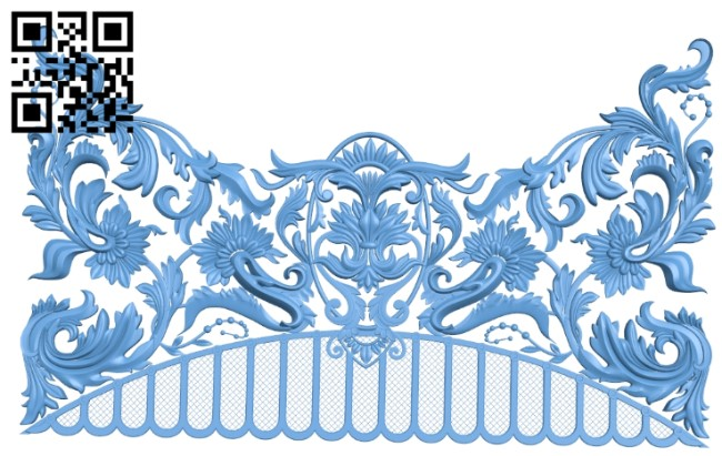 Pattern decor design A005981 download free stl files 3d model for CNC wood carving